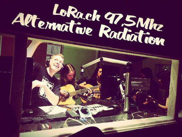 DJLeo on radio Lora live-radioshow.