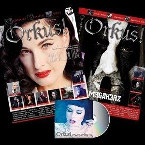 Cover vom Orkus-Magazin März 2018 mit Dita von Teese