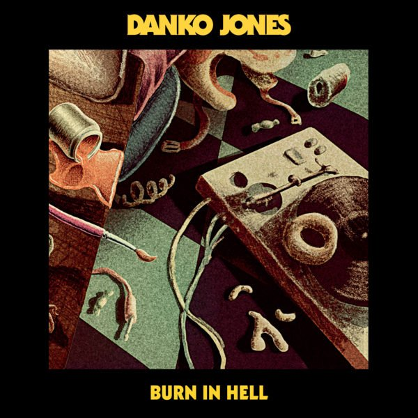 Danko Jones new CD burn in hell