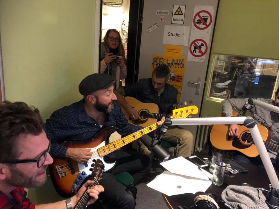 Weber Wohler Band in Session at Radio Lora with DJLeo
